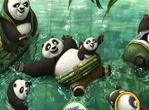 Kung Fu Panda 3 Litere Ascunse