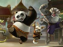 Kung Fu Panda Aranjeaza Piesele de Puzzle
