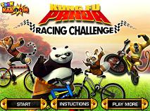 Kung Fu Panda Cursa cu Biciclete