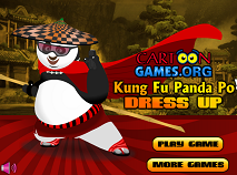 Kung Fu Panda Dress Up