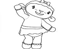 Lambie Coloring