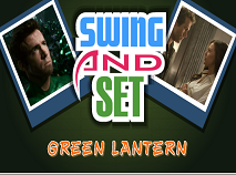 Lanterna Verde Puzzle Rotativ