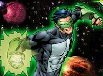 Green Lantern VS Robots