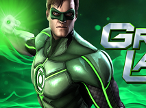 Green Lantern Flying Test
