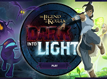 The Legend of Korra Dark Into Light