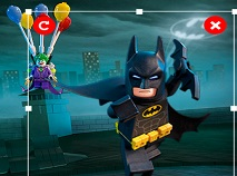 Lego Batman Movie Scene Builder