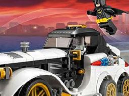 Lego Batman Diferente cu Masini