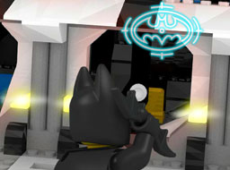 Lego Batman's First Try