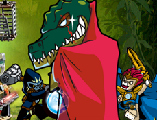 Lego Chima Crocodile Tribe