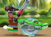 Lego Chima Curse pe Crocodil