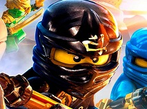 Lego Ninjago Hidden Shurikens