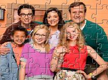 Liv si Maddie cu Familia Puzzle