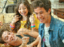 Luna si Prietenii Puzzle