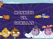 Maimutele Racheta vs Gorilele