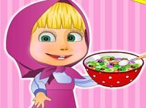 Masha Cooking Russian Garden Salad