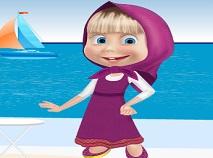 Masha at the Beach