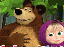 Masha si Ursul Aventura in Padure