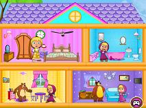 Masha si Ursul Casa de Papusi