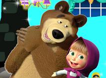Masha si Ursul Decoreaza Camera