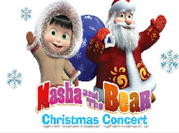Masha and the Bear Christmas Puzzle