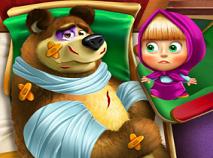 Masha si Ursul Ranit