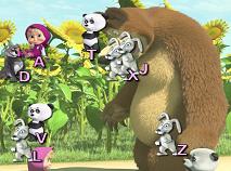 Masha si Ursul de Tastat