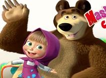 Masha si Ursul si Dulciurile