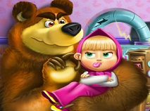 Masha and the Bear Toys Disaster