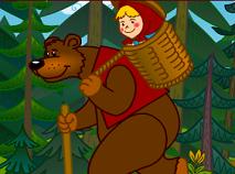 Matematica cu Masha si Ursul