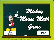 Matematica cu Mickey Mouse