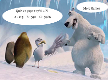Norm of the North Math Quiz