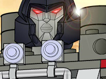 Megatron Take Down Lego