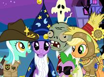 Micul Meu Ponei Distractie de Halloween