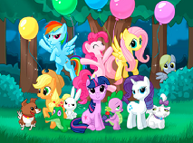 My Little Pony Forest Party