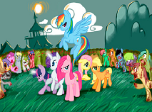My Little Pony Vs Zombies