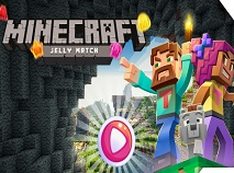 Minecraft Jelly Match