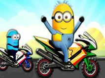 Minions Bike Race