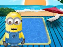 Minions Swimming Pool Clean Up