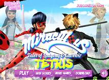 Ladybug and Cat Noir Tetris