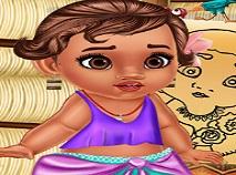 Moana Baby Caring