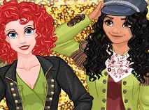 Moana si Ariel in Armata
