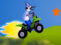Mordecai cu ATV
