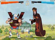 Mordecai si Rigbi - Batalia Monstrilor Roboti