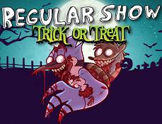 Mordecai si Rigbi Bejeweled de Halloween