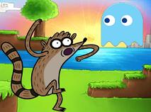 Mordecai si Rigbi Pac-Man