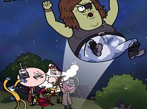 Mordecai si Rigbi Sarituri de Halloween