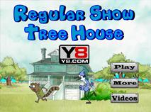 Mordecai si Rigbi in Casa din Copac