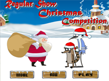 Regular Show Christmas Competiton