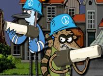 Mordecai si Rigbi in Zona Militara