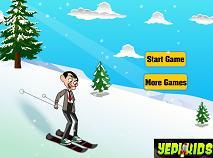 Mr Bean la Ski